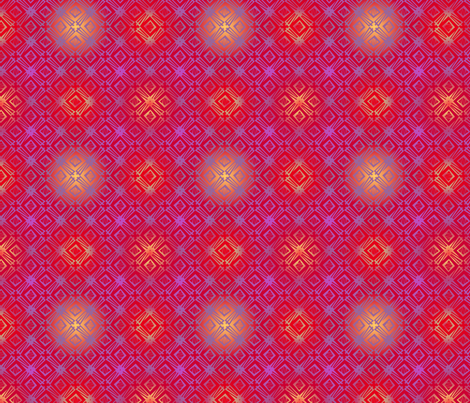 windmill - flame kissed fabric by glimmericks on Spoonflower - custom fabric