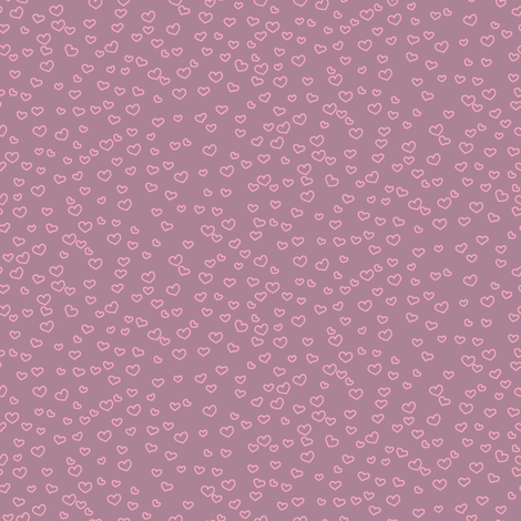 hearts_dusky fabric by owls on Spoonflower - custom fabric