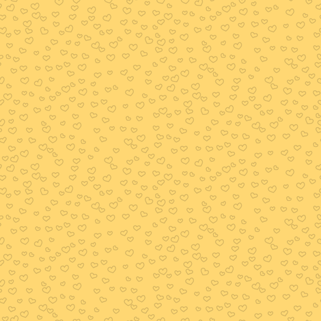 hearts_yellow fabric by owls on Spoonflower - custom fabric