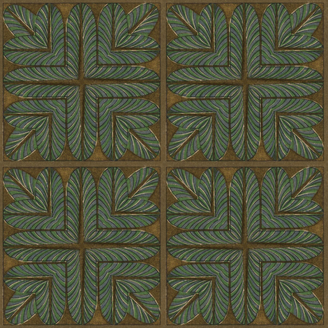 Antique Paper Design Pattern - Page 19 Square Repeat