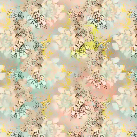 First Crush Floral fabric by joanmclemore on Spoonflower - custom fabric