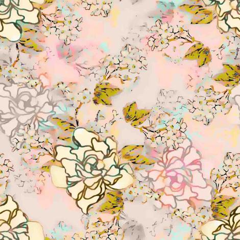 Love's Blush fabric by joanmclemore on Spoonflower - custom fabric