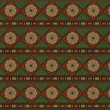 Antique Paper Design Pattern - Page 22 fabric by zephyrus_books on Spoonflower - custom fabric