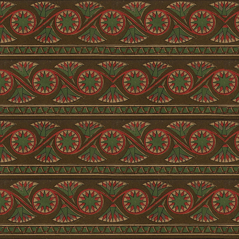 Antique Paper Design Pattern - Page 40 fabric by zephyrus_books on Spoonflower - custom fabric