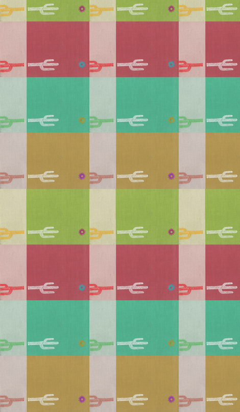 saguaropanels fabric by bowsprite on Spoonflower - custom fabric