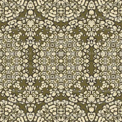 sketchy floral II bronze 224544