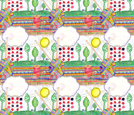 AliPink_3 fabric by wiccked on Spoonflower - custom fabric