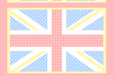 Country Union Jack fabric by cison on Spoonflower - custom fabric