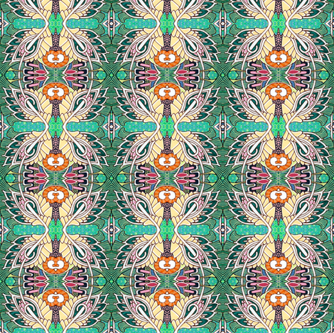 Watch the Birdie fabric by edsel2084 on Spoonflower - custom fabric