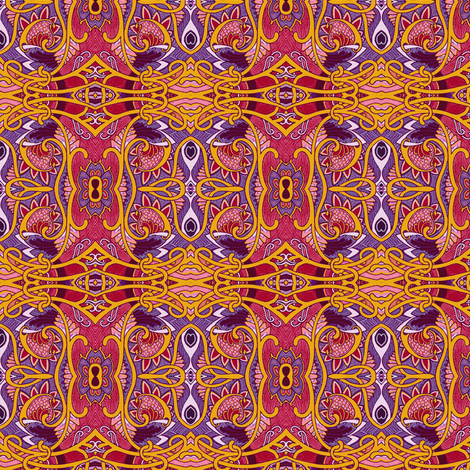 Eyeball of the Orient fabric by edsel2084 on Spoonflower - custom fabric
