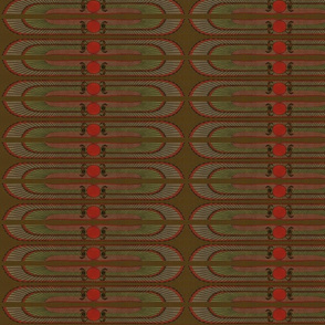 Antique Paper Design Pattern - Page 4 Cobra horizontal mirrored pattern