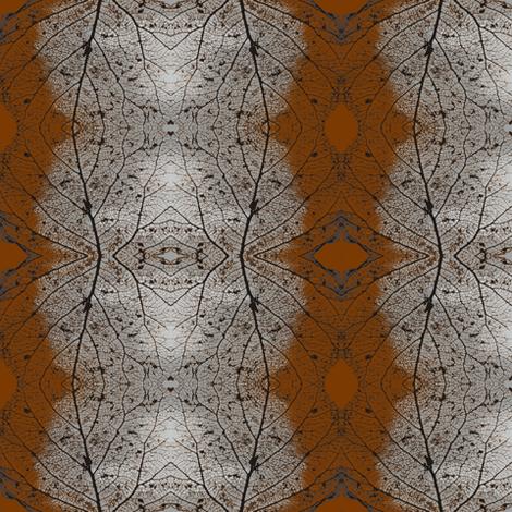 Ghostly-Leaves Repeat fabric by tissu-de-jardins on Spoonflower - custom fabric