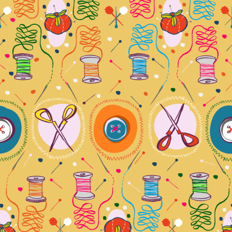 sew_in_love fabric by gsonge on Spoonflower - custom fabric