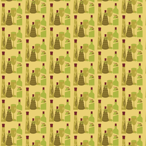 Water Into Wine fabric by tinhearts on Spoonflower - custom fabric