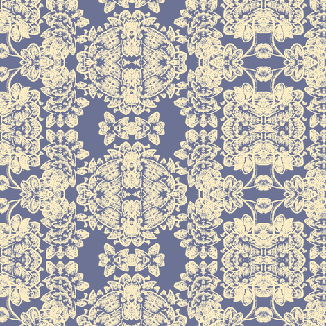 lacy_floral_w-cream_175048 fabric by thatswho on Spoonflower - custom fabric