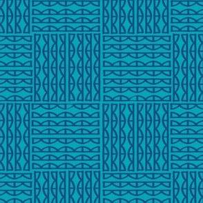 scallops- blue