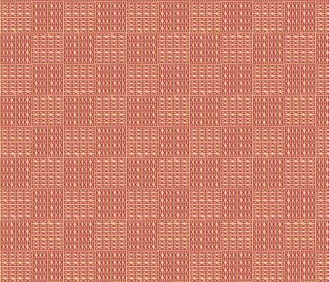 scallops- coral fabric by lola_designs on Spoonflower - custom fabric