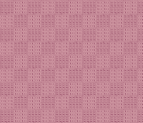 scallops- plum fabric by lola_designs on Spoonflower - custom fabric