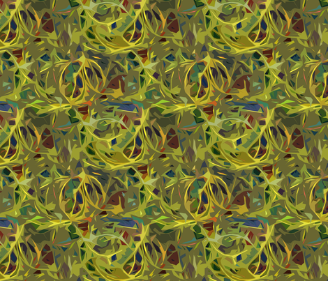 Thorns fabric by beckarahn on Spoonflower - custom fabric