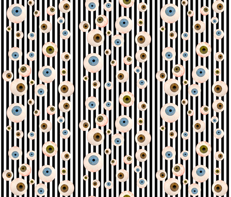 I See You. fabric by whimzwhirled on Spoonflower - custom fabric