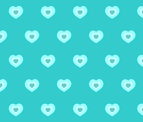 heartthrob fabric by bluevelvet on Spoonflower - custom fabric