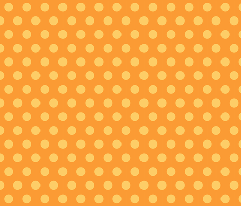SUN DOTS fabric by bluevelvet on Spoonflower - custom fabric