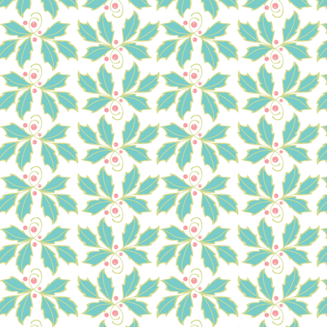 Holly fabric by cindy_lindgren on Spoonflower - custom fabric