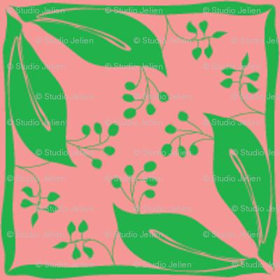 jugendstil leafs