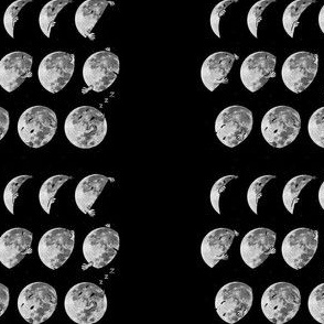 Moon goes to sleep