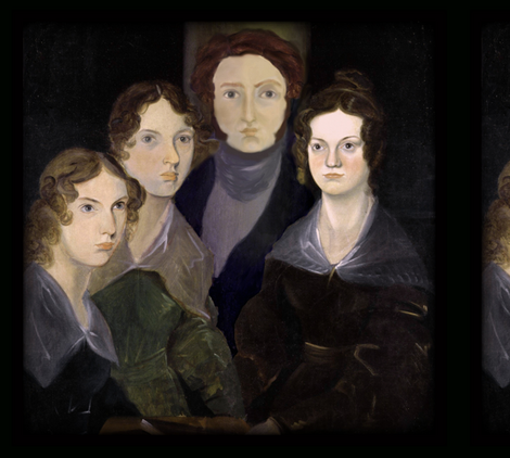 The Bronte Family Reunion ~ Large fabric by peacoquettedesigns on Spoonflower - custom fabric
