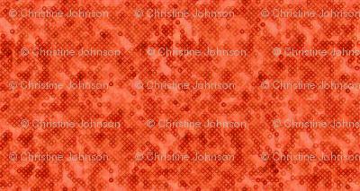ditsy tangerine