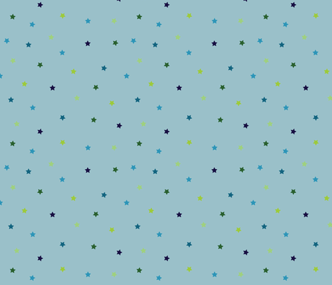 Cuteness Stars Little fabric by jenimp on Spoonflower - custom fabric