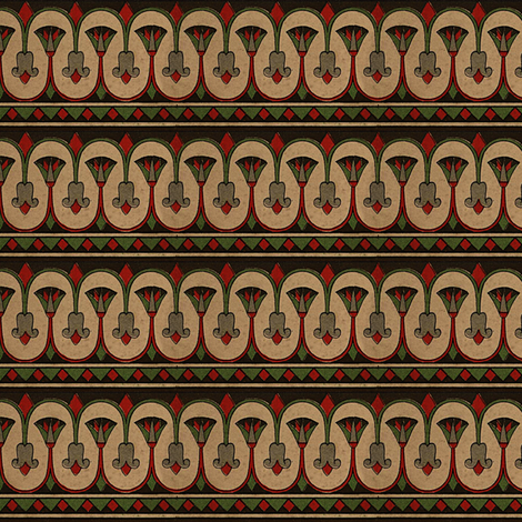 Antique Paper Design Pattern - Page 23 fabric by zephyrus_books on Spoonflower - custom fabric