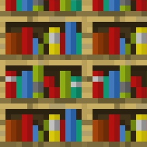 Pixelated Bookshelves - Large