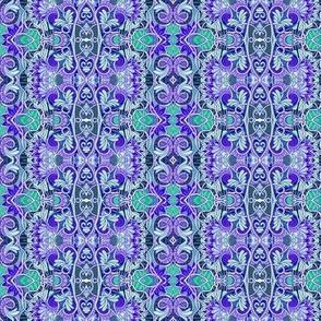 Garden of Blue Hearts