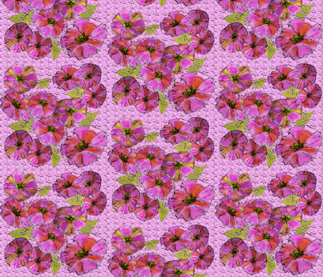 Petunia_Passion fabric by topfrog56 on Spoonflower - custom fabric