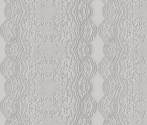 Embossed Lace fabric by whimzwhirled on Spoonflower - custom fabric