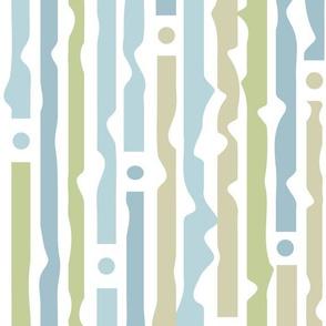 blue_stripes. Curtain motive