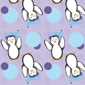 Penguins_at_Play_ Arctic Violet