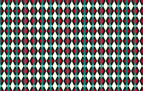 Albuquerque fabric by fireflower on Spoonflower - custom fabric