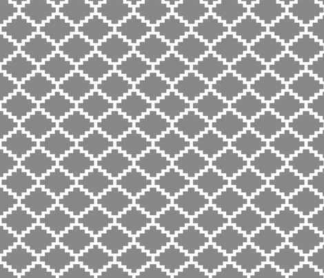 RickRack_grey fabric by walrus_studio on Spoonflower - custom fabric