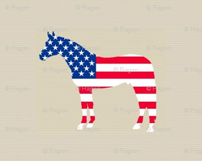 horseusflag