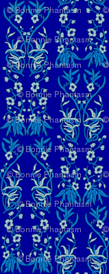Embroidered Flying Floral Fabric - Full