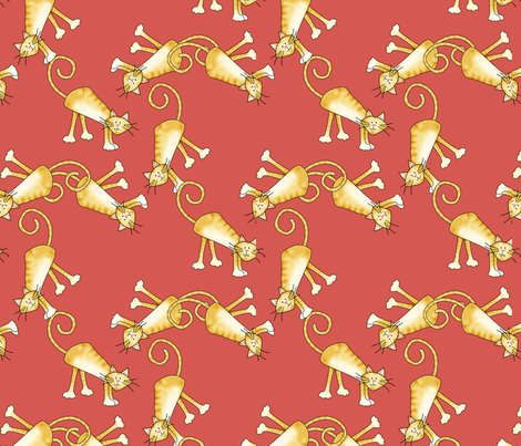 whatsnewpussycat fabric by suziwollman on Spoonflower - custom fabric