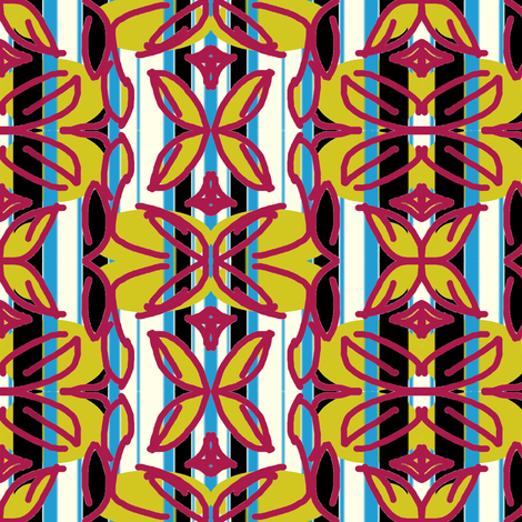 stripeandlf fabric by sewbiznes on Spoonflower - custom fabric