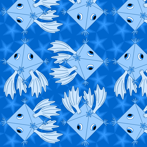 octaherring fabric by sef on Spoonflower - custom fabric