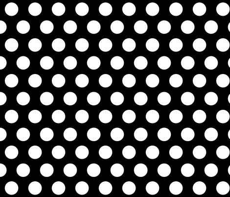 WHITE SPOTS fabric by bluevelvet on Spoonflower - custom fabric