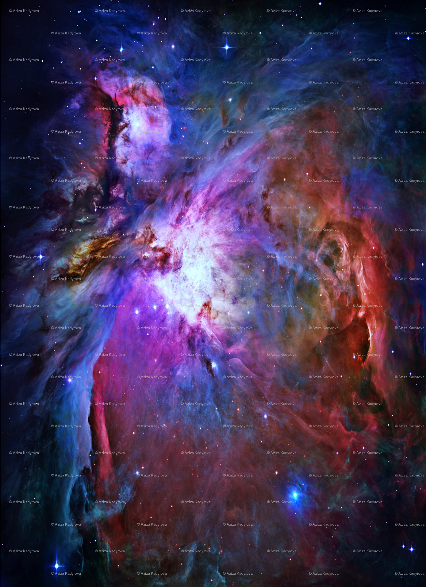 Great orion nebula hubble pics about space for Nebula fabric