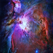 Orion Nebula (Hubble 2006, colours edited)