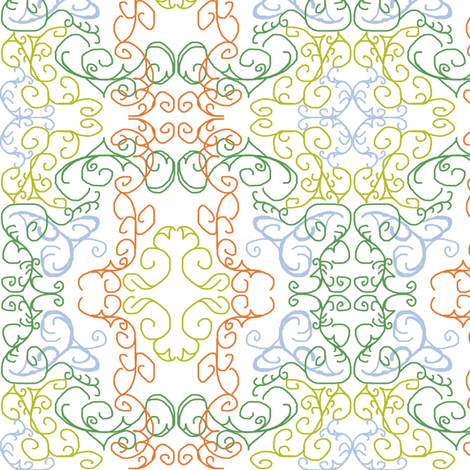 Hometown Elegance fabric by lesliebedell on Spoonflower - custom fabric